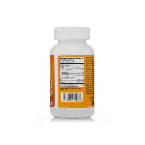 Фибри от Псилиум 500 мг 160 капсули | 21st Century