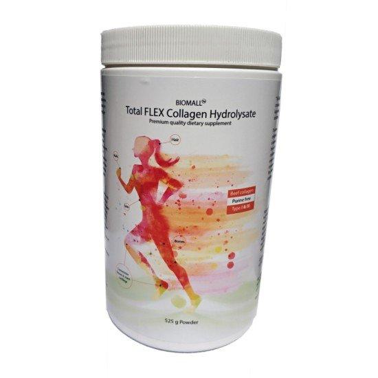 Total FLEX Collagen Hydrolysate 525 гр прах | BioMall