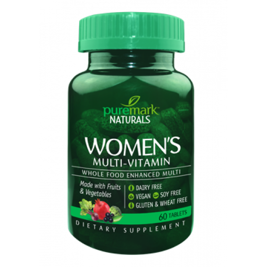Натурални Мултивитамини за Жени 60 таблетки | Puremark Naturals