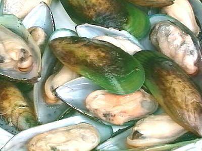 Зеленоустата мида съдържа омега-3 незаменими мастни киселини.